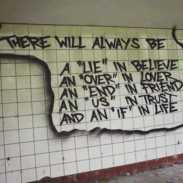 end in friend graffiti